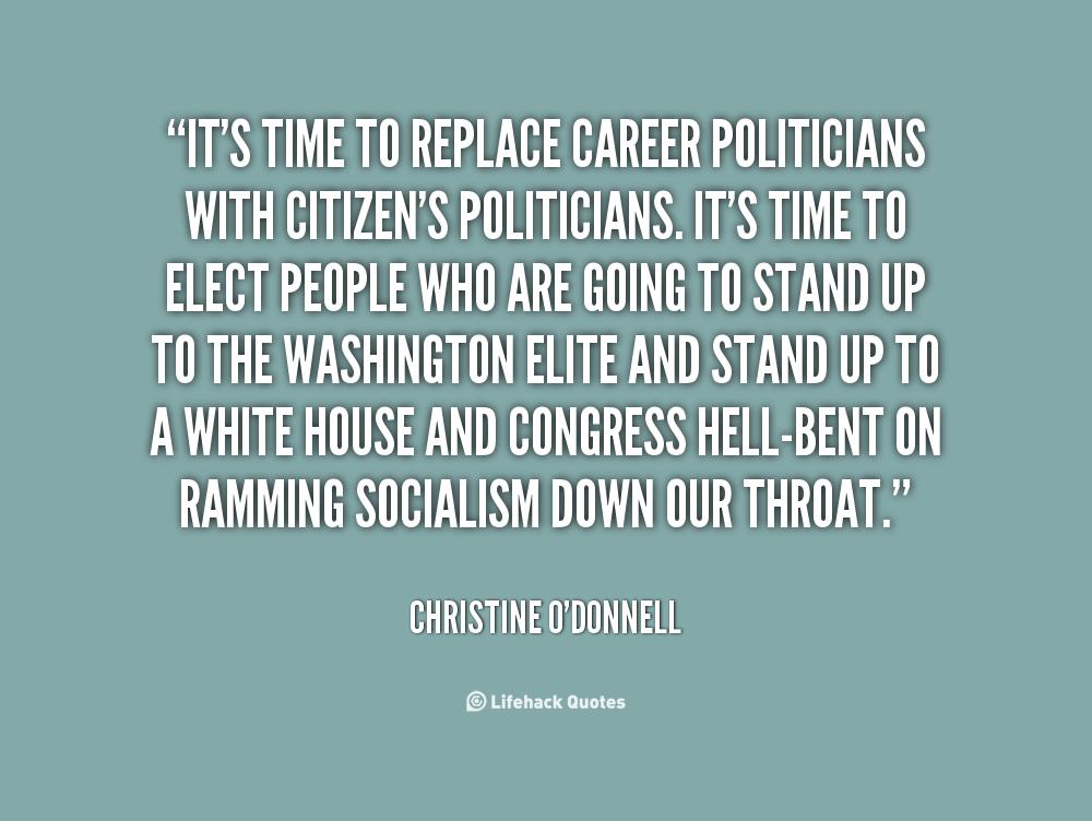Career Politicians quote #1