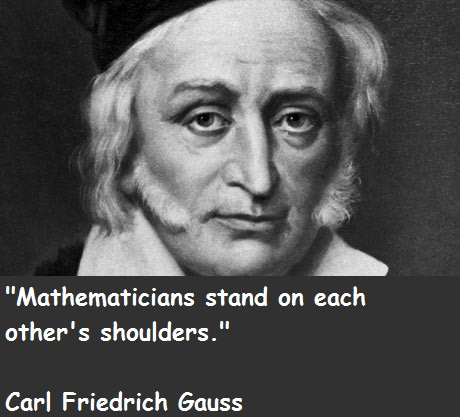 Carl Friedrich Gauss's quote #1