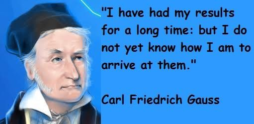 Carl Friedrich Gauss's quote #3
