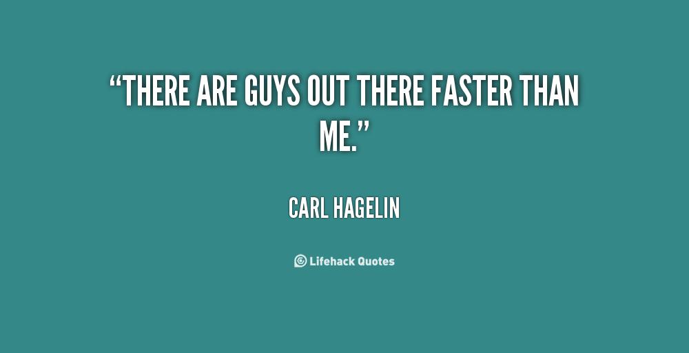 Carl Hagelin's quote
