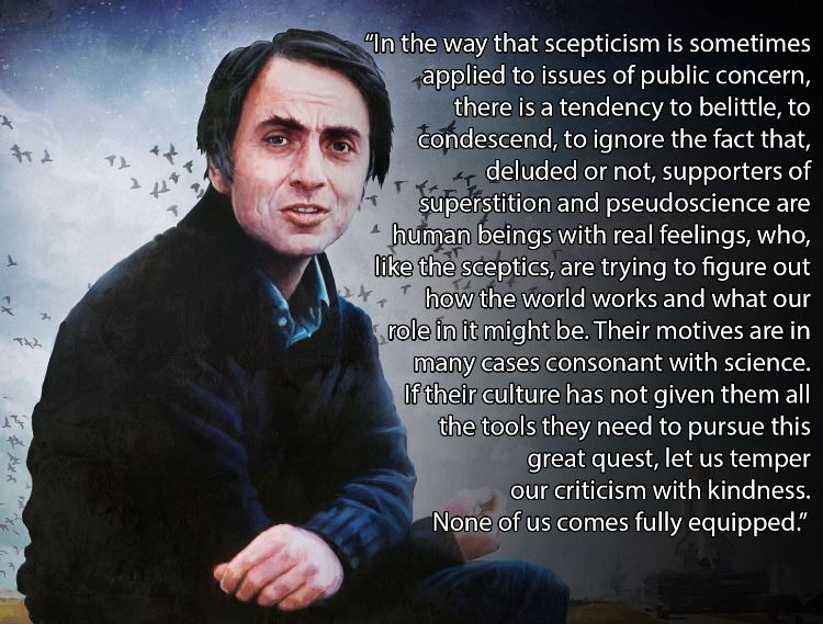 Carl Sagan's quote #1