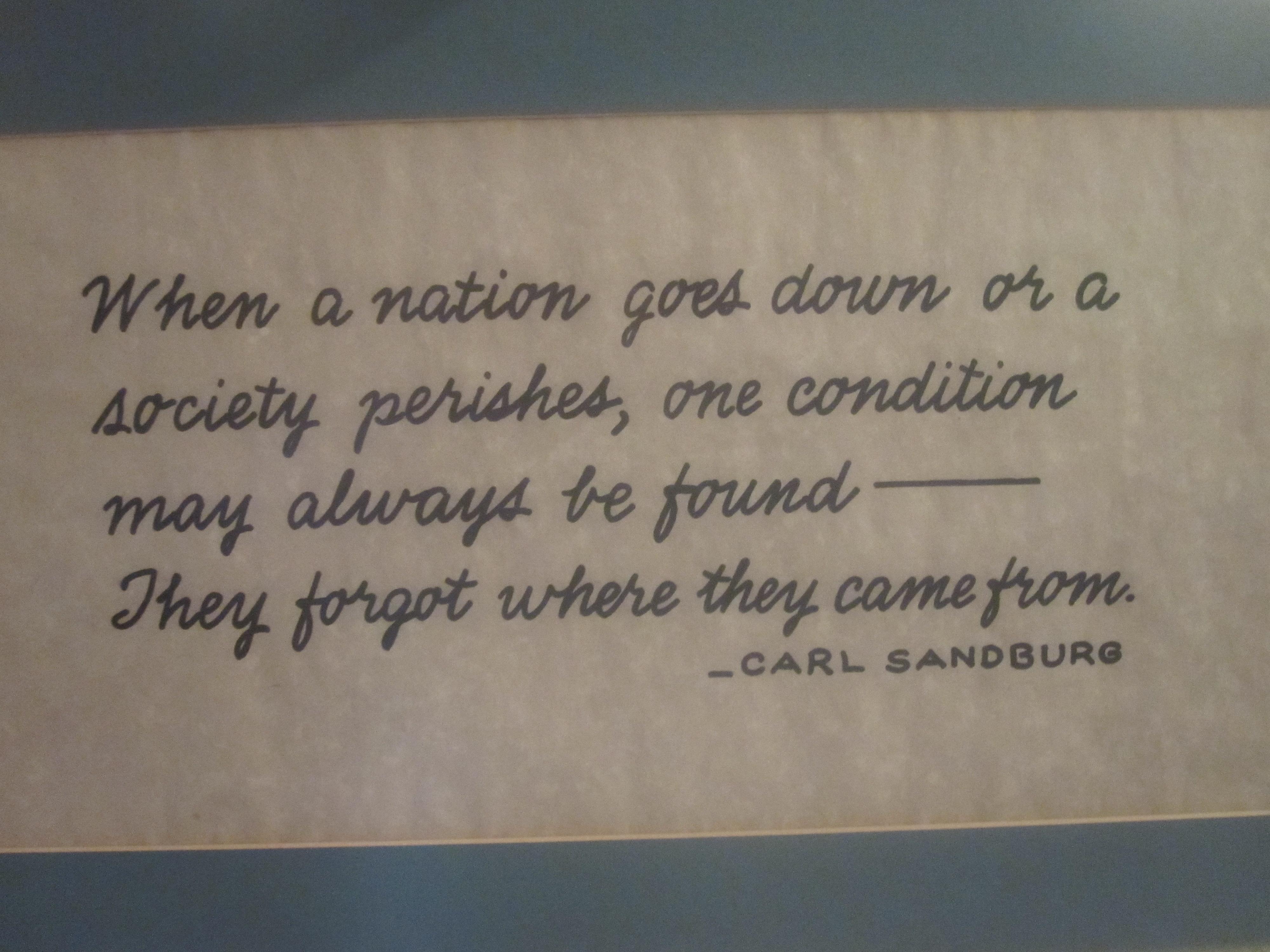 Carl Sandburg's quote #7