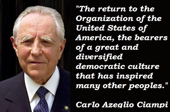Carlo Azeglio Ciampi's quote