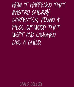 Carlo Collodi's quote #1