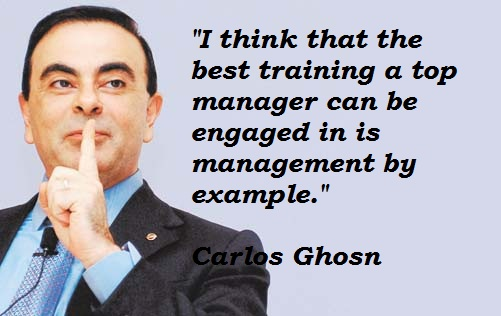 Carlos Ghosn's quote #5