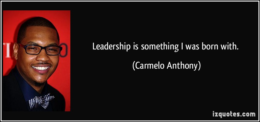 Carmelo Anthony's quote #3