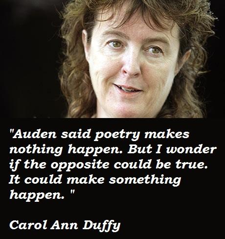 Carol Ann Duffy's quote #5
