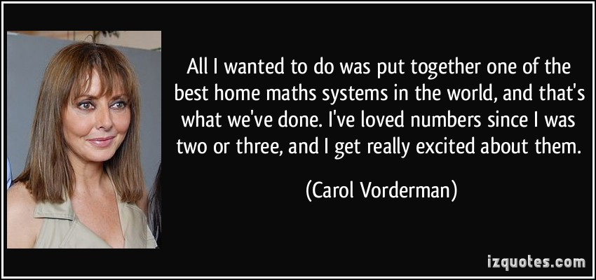 Carol Vorderman's quote #1