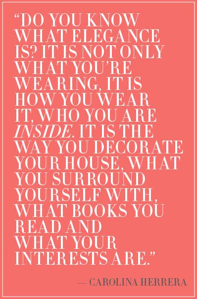 Carolina Herrera's quote #3