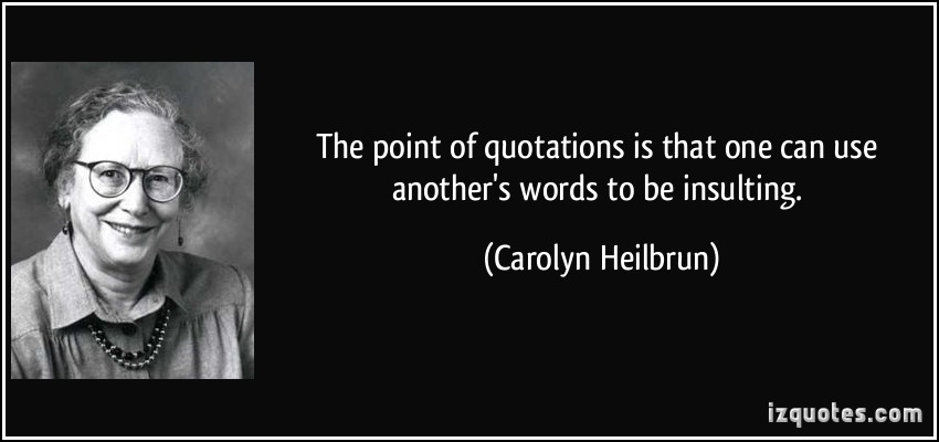 Carolyn Heilbrun's quote #7