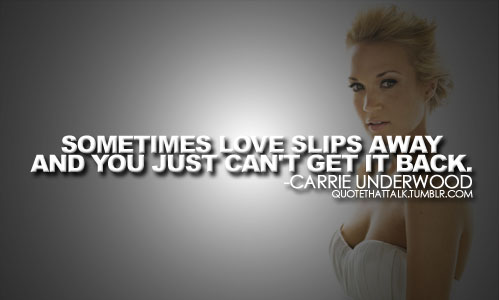 Carrie Underwood's quote #2