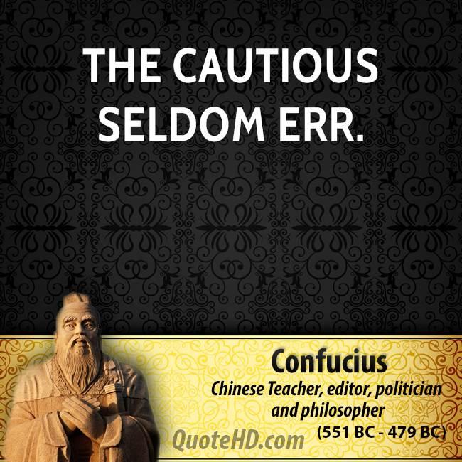 Cautious quote #3