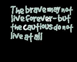 Cautious quote #8