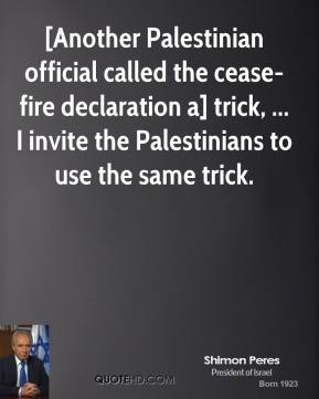 Cease-Fire quote #2