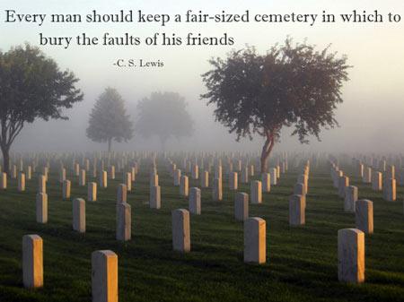 Cemetery quote #1