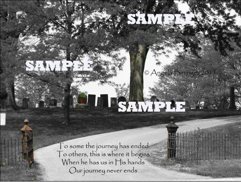 Cemetery quote #2