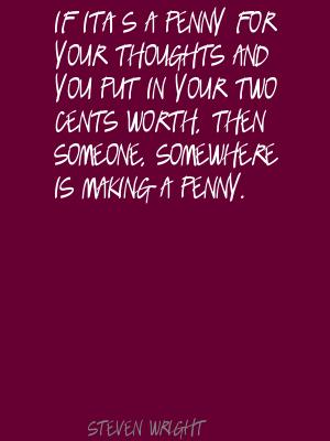 Cents quote #1