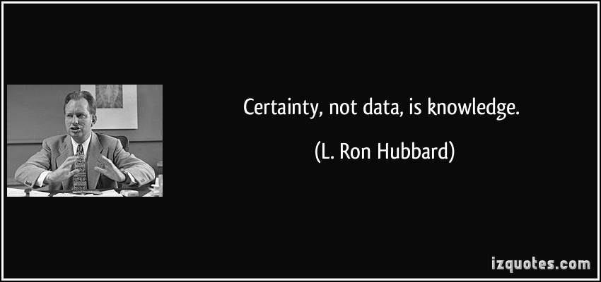 Certainty quote #5