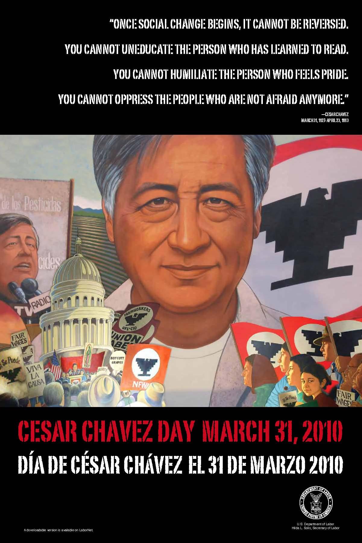 Cesar Chavez's quote #2