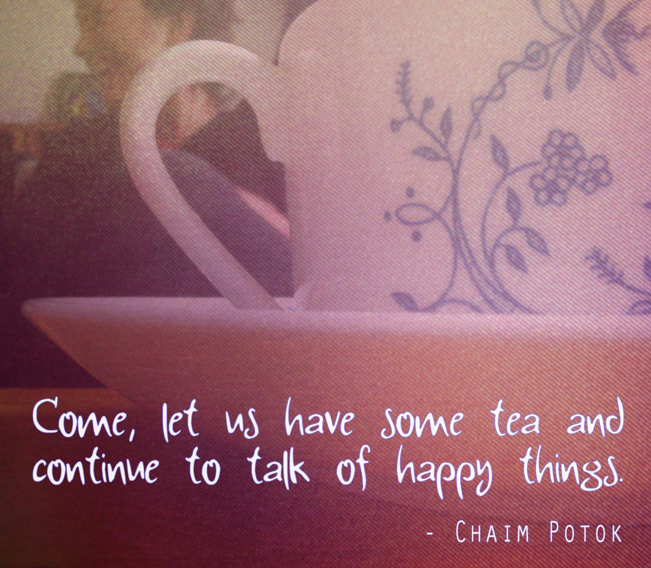 Chaim Potok's quote #1
