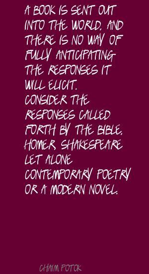 Chaim Potok's quote #4