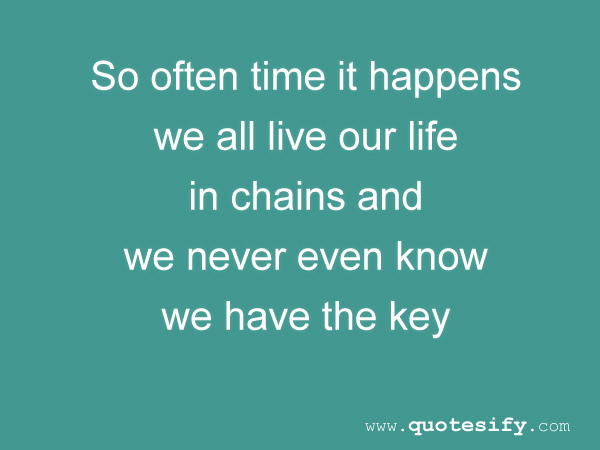 Chains quote #4