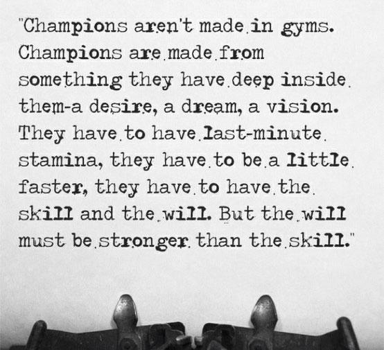Champion quote #7