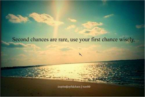 Chance quote #2