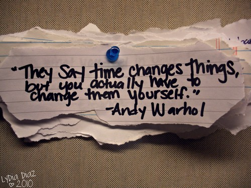 Change Things quote #1