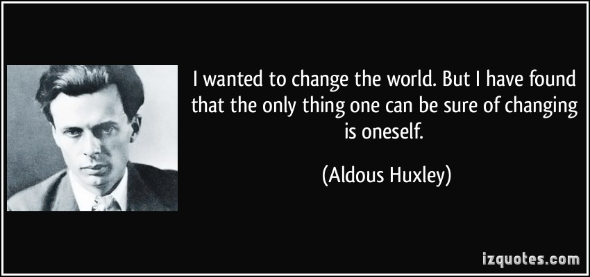 Changing The World quote #2