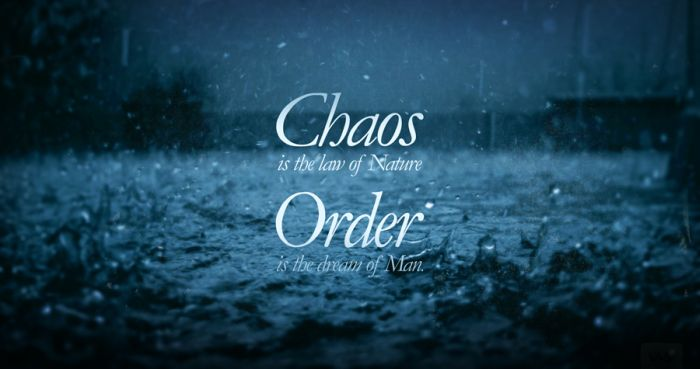 Chaotic quote #3
