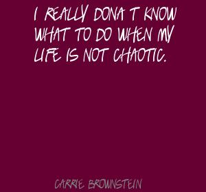 Chaotic quote #6