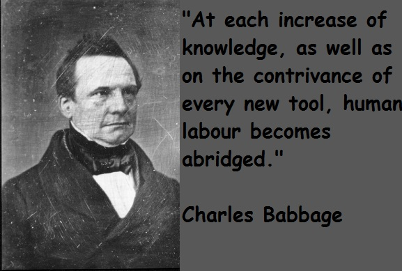 Charles Babbage's quote #1