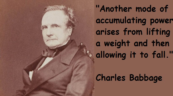 Charles Babbage's quote #5