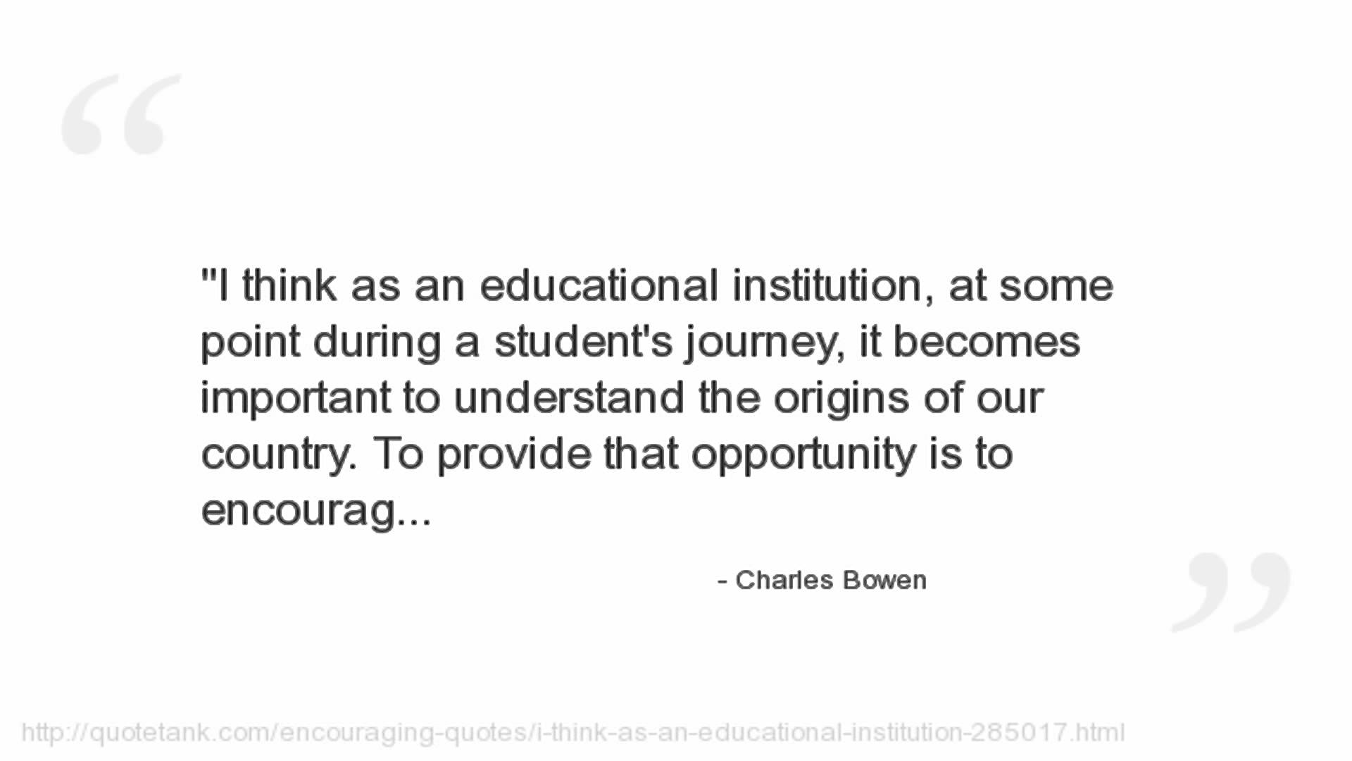 Charles Bowen's quote #4