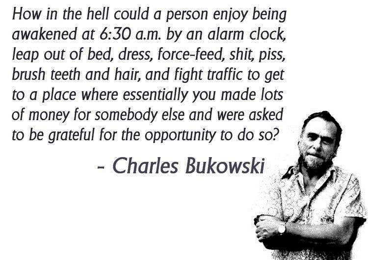 Charles Bukowski's quote #1