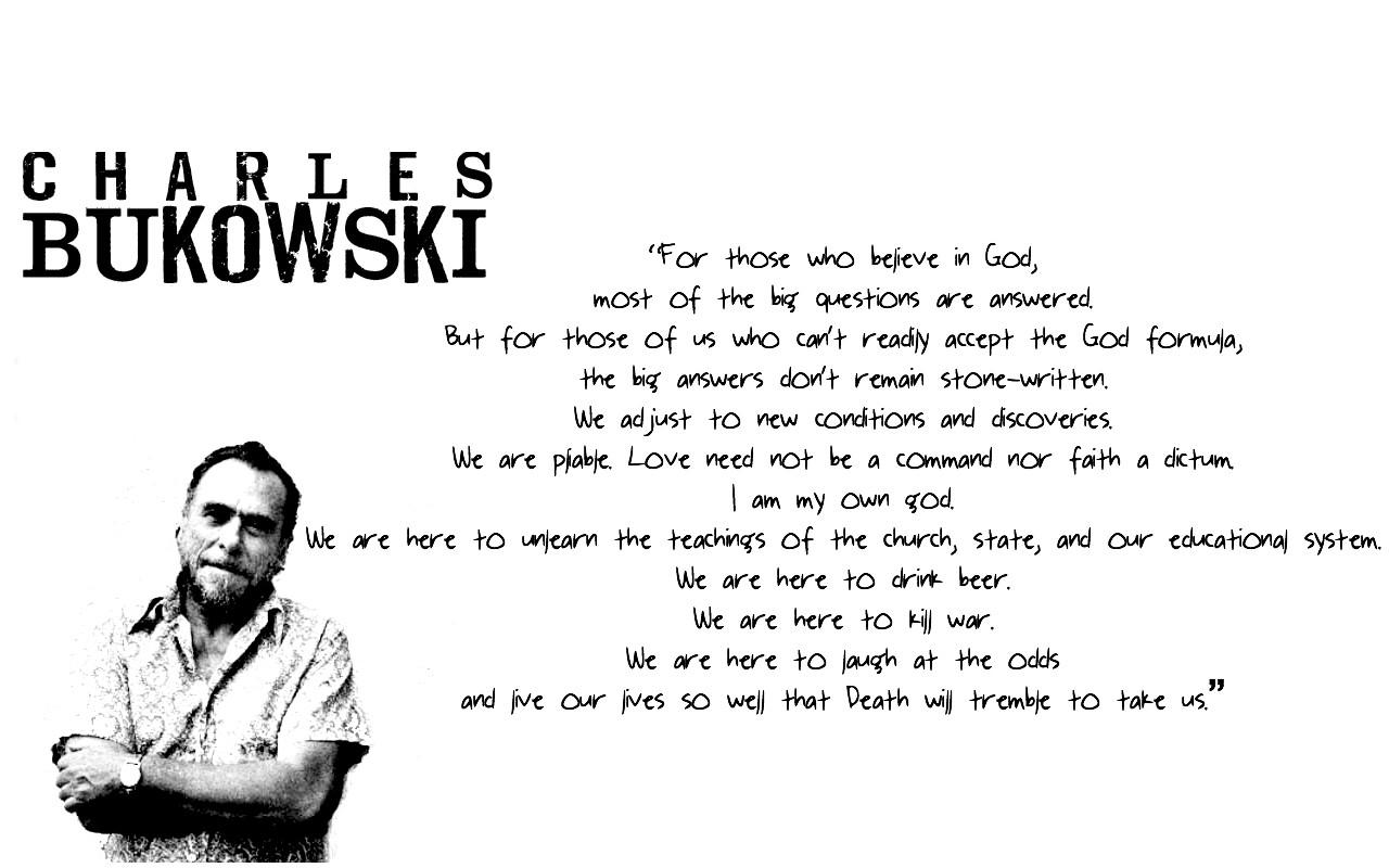 Charles Bukowski's quote #3