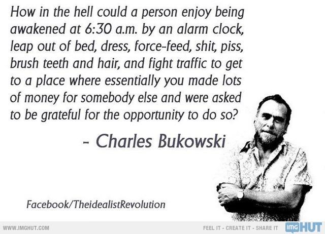 Charles Bukowski's quote #8