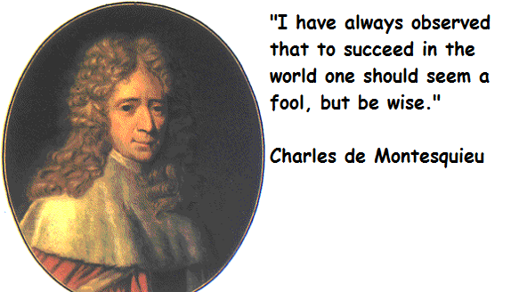 Charles de Montesquieu's quote #3