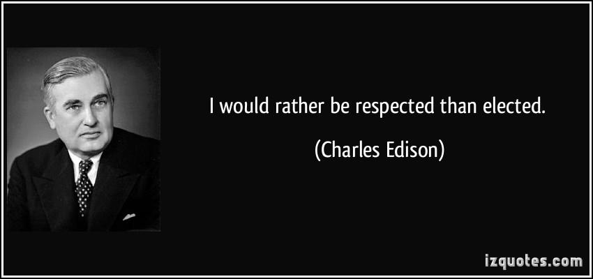 Charles Edison's quote #8