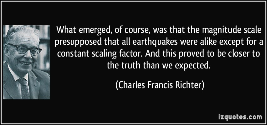 Charles Francis Richter's quote #3