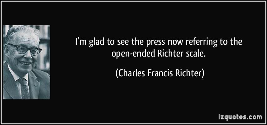 Charles Francis Richter's quote #6