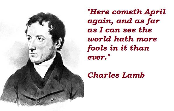 Charles Lamb's quote #7