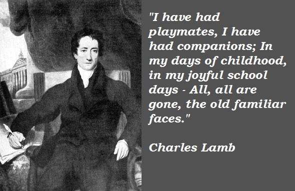 Charles Lamb's quote #6