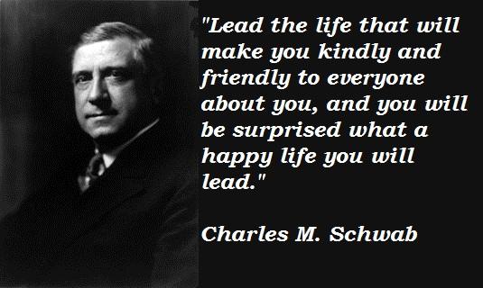 Charles M. Schwab's quote #1