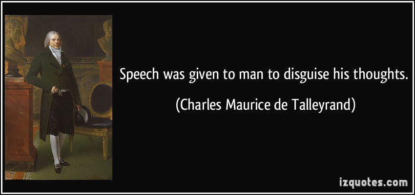 Charles Maurice de Talleyrand's quote #3