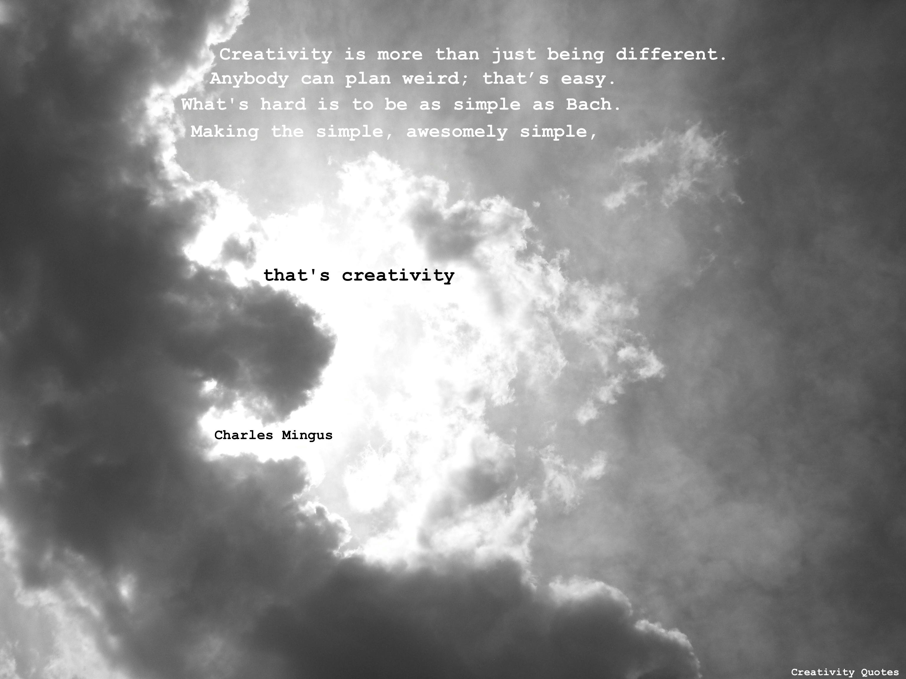 Charles Mingus's quote #1