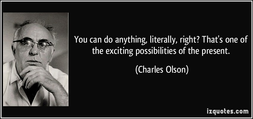 Charles Olson's quote #4