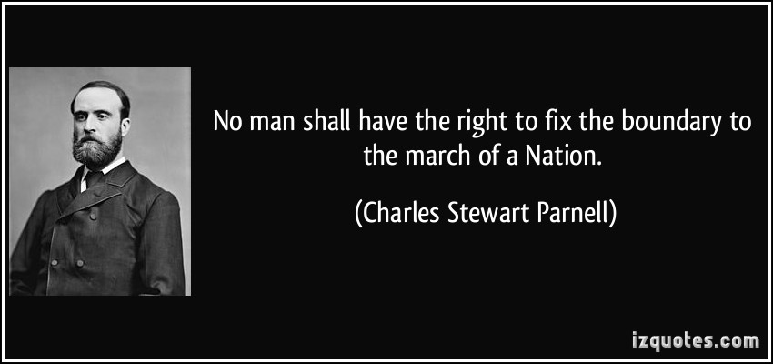 Charles Stewart Parnell's quote