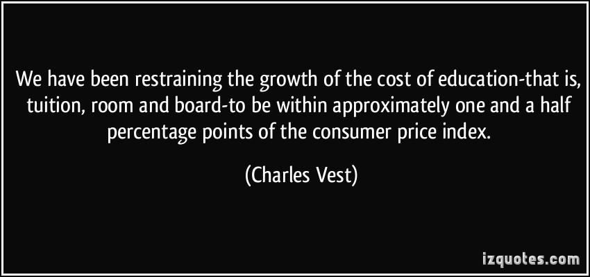 Charles Vest's quote